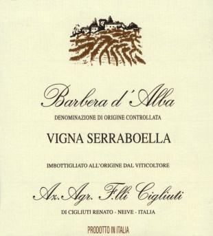 Barbera d'Alba Serraboella