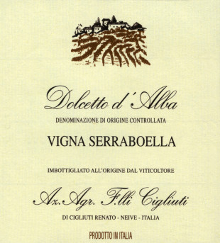 Dolcetto d'Alba Serraboella